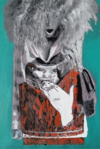 Empty Purse (series) 25 x 20 acrylic on canvas