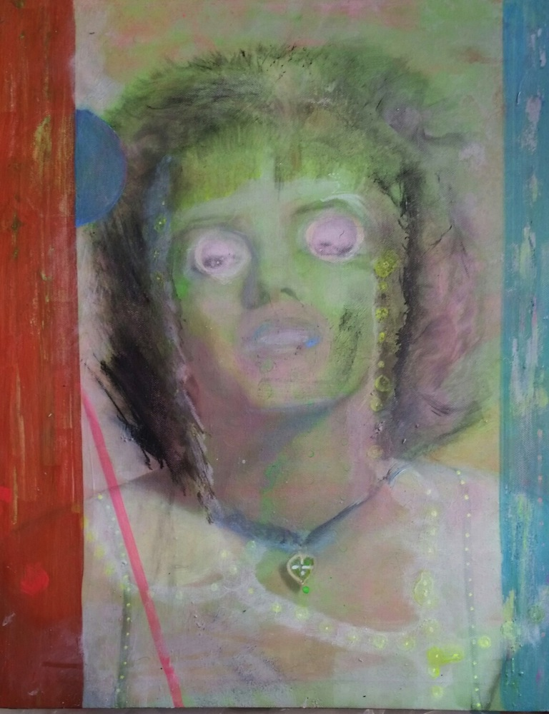 Gutelius, 19 x 15, Marilyn at Walmart
